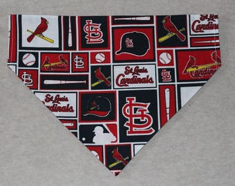 St. Louis Cardinals Dog Bandanna in Small, Medium, & Large