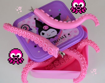 Hentai PINK poseable TENTACLE hair accessory clip