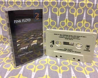 A Momentary Lapse of Reason by Pink Floyd Cassette Tape rock Vintage