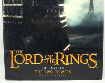 The Art of The Two Towers (The Lord of the Rings) (Hardcover) by Gary Russell - fantsy art inspiration book