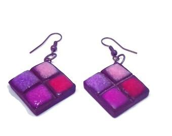 modern earrings, earrings for her, happy birthday, gift for her