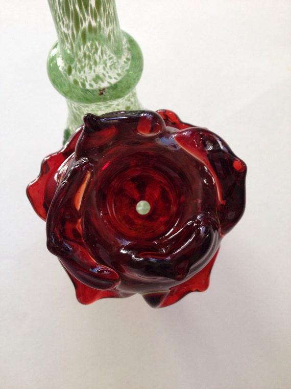 Glass Pipe Rose Sherlock