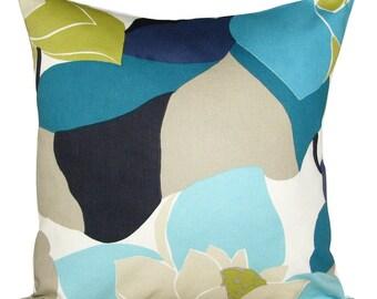 Scion Diva Kingfisher Blue Cushion Cover
