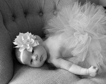 Tutu and Headband; Photo Prop; Baby Tutu