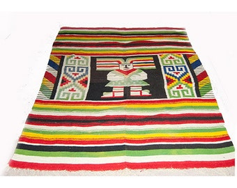 Native American carpet, rug, vintage