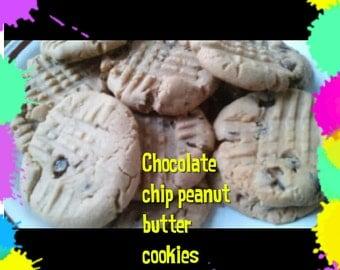 Peanut Butter Chocolate Chip Cookies  1 Dozen Gourmet
