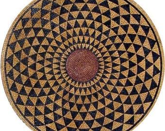 Round Stone Mosaic - Dunya