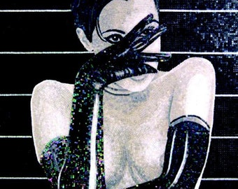 Mosaic -  Burlesque Rose de Noir