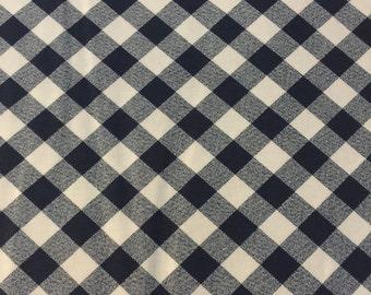 Bonnie and Camille Navy Blue Gingham Checks for Moda Fabrics