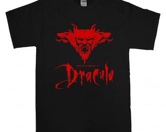 Dracula T-shirt 90's Cult Movie Bram Stocker t shirt S-XXL RARE Nosferatu Gary Oldman Horror Thriller Love Film