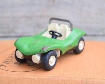 Green Car, Green Roadster, Tonka Dune Buggy, Green Autos, Green Nursery Decor, Automobile Decor, Green Boys Nursery Decor, Vintage Tonka