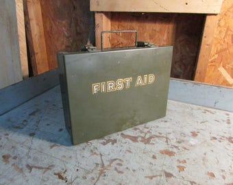 Vintage Military First Aid Kit