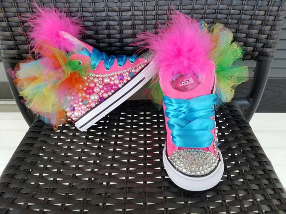 Adorable Trolls Girls Costume Shoes