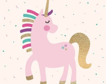 Unicorn Party Game | Pin the Horn on the Unicorn | Party Games
