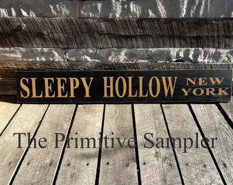 SleepyHollow NY Sign, Sleepy Hollow,  NY,  New York, Headless Horseman,  Washington  Irving, Sleepy Hollow NY, Halloween Sign