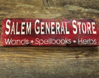 Rustic Salem General Store Sign