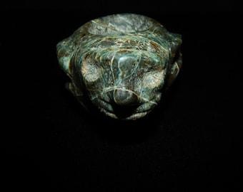 Pre-Columbian Ceremonial Mace Monkey Head