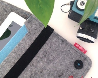 iPad Case, iPad Sleeve, iPad Air Sleeve Case, Cover Case, Cover Felt, Tablet Case, iPad Custodia