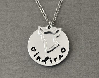 Free shipping  - Chihuahua  Necklace, Personalized Dog Necklace, Chihuahua Jewelry, Dog Breeds, Pet Jewelry, Dog Lover