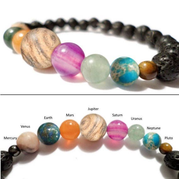 Space Bracelet Diffuser Spacelet Solar System Planets And
