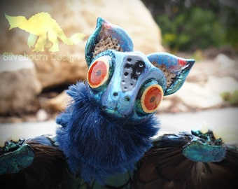 Silvabeast OOAK Art Doll - Reggy