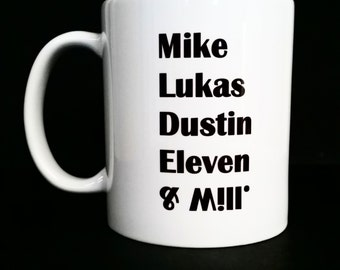 Stranger things, Stranger things mug, stranger things gifts, stranger things fan, stranger things mugs, upside down mug, upside down, mugs