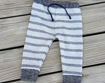 Baby Joggers, baby jogger pants, French Terry Pants, Baby Leggings, French Terry Joggers, 6-9 Mos