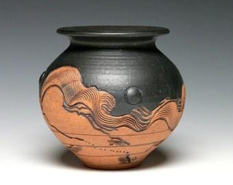 Stoneware Vase, Hand Thrown Vase, Pottery Vase, Ceramic Vase, Home Decor