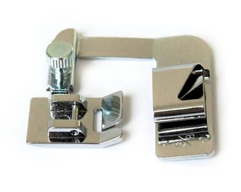 Hemmer 6/8 inch presser foot for most domestic low shank sewing machines