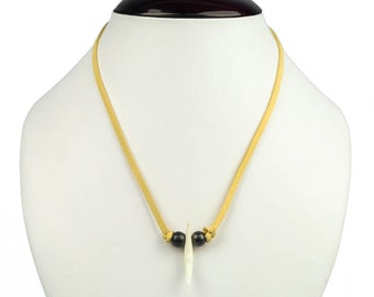 Real Fox Tooth Necklace