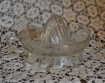 Antique Jeannette Depression Glass Juicer