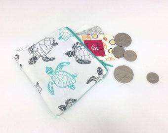 Turtle coin purse