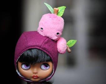 hat Blythe helmet bonnet apple by Blablablythe