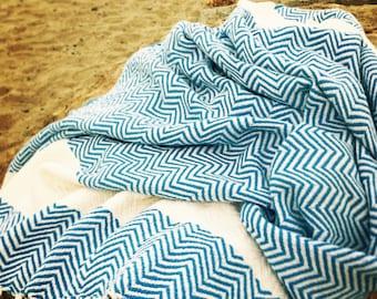 San Clemente, Turkish Towel, Hand Loomed, Beach Towel