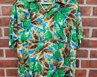 1950s Hawaiian Aloha Button-down