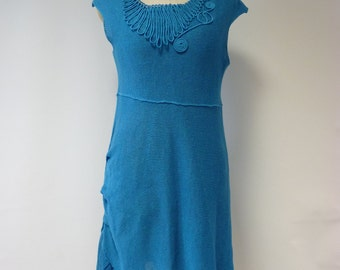 The hot price. Amazing linen short dress, M size. Only one sample.