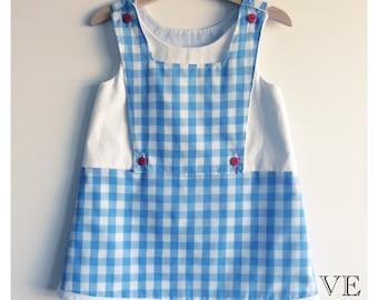 "Girl baby toddler dress ""Little DOROTHY""  A line dress SALE"