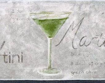 Green Martini 5510863 Wallpaper Border