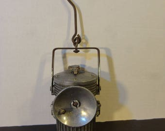 Old fashion coal Miner's lantern - Fred R, Belt Co. Chicago Ill. No. 7