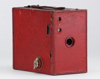 Vintage Red 1924 Kodak No. 2A Brownie Model C Camera – Home Decor Display & Collector Piece