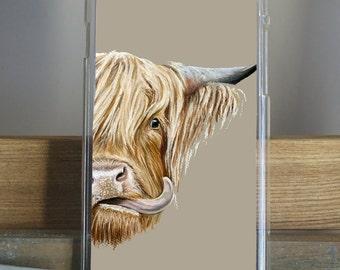 Highland Cow Phone Case iPhone Samsung