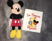 Mickey Mouse | Twodles | Embroidered | Birthday Shirt | Personalized | First | Second | Third | Fourth | Fifth Bday | Pick Your Deadline