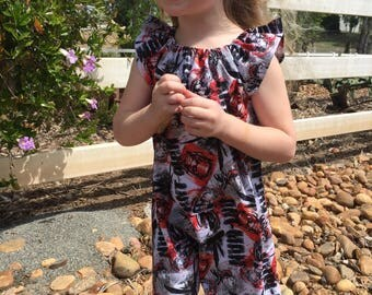 Size 4t Ready to Ship Audrey Dress Ant-Man