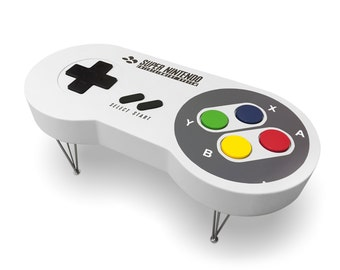 SNES Super Nintendo Controller Coffee Table Limited Edition