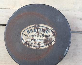 Old Italian Music Tin