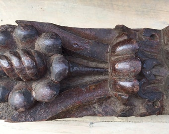 English wooden carving
