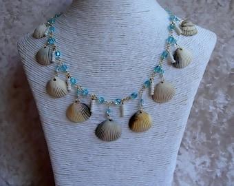 Collar charms hulls 'Sea & Nature'