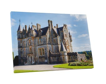 Castles and Cathedrals Blarney House at Castle Gardens Gallery Wrapped Canvas Print