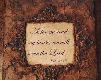 Bible Verse Wall Plaque