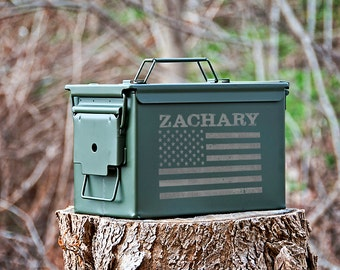 Groomsmen Gift, Personalized Ammo Can, Ammo Box, Metal Ammunition Box, Gifts for Him
